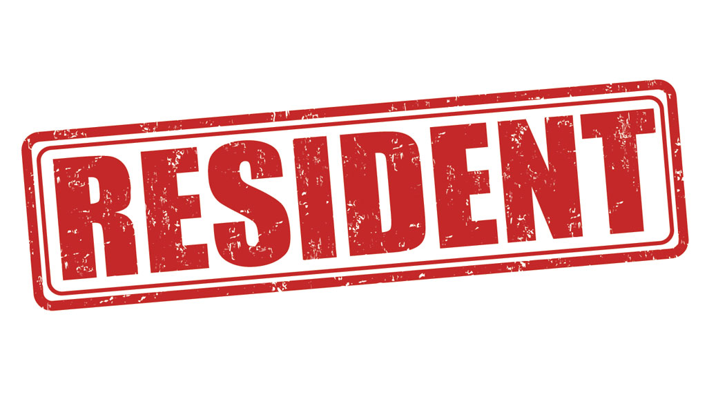 Resident Stamp