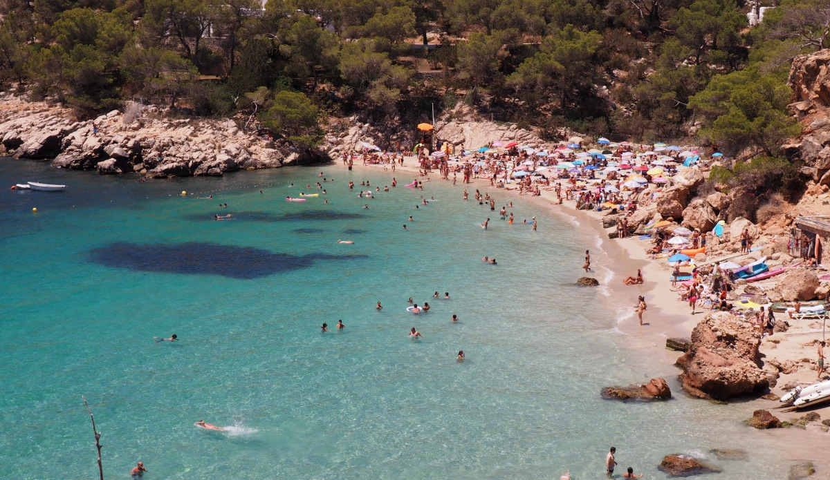 Cala Salada Beach Review West Ibiza 974