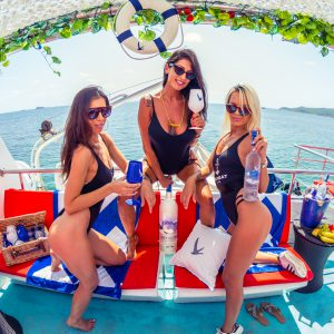 Oceanbeat Ibiza VIP boat party